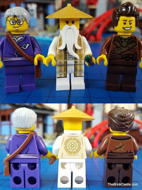 LEGO Ninjago Temple Of Airjitzu Postman Wu Dareth