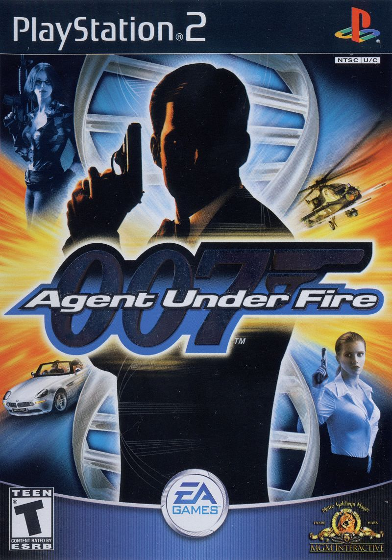 007 Agent Under Fire PAL PS2