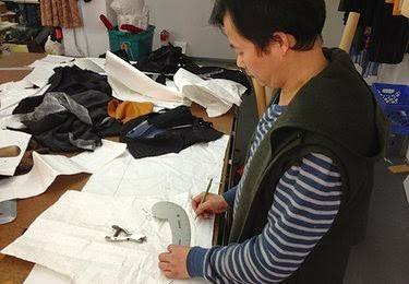 Garment sample making