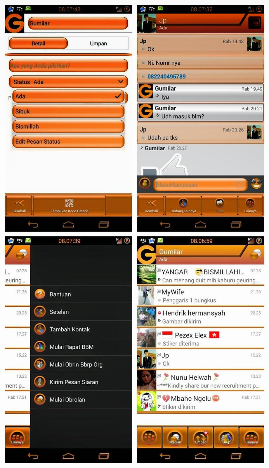 BBM Orange