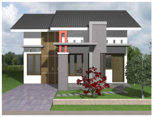 Gambar Desain Rumah Minimalis Type 36 1 Lantai