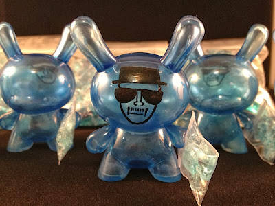 "Heisenberg Breaking Bad 3"" Custom Dunny Vinyl Figures by Eckotyper"