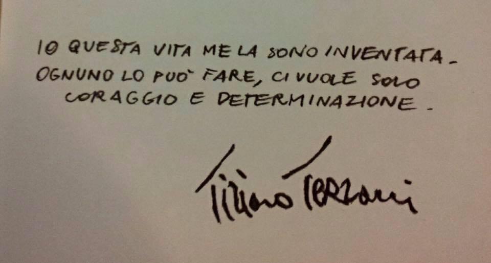Tiziano Terzani disse...
