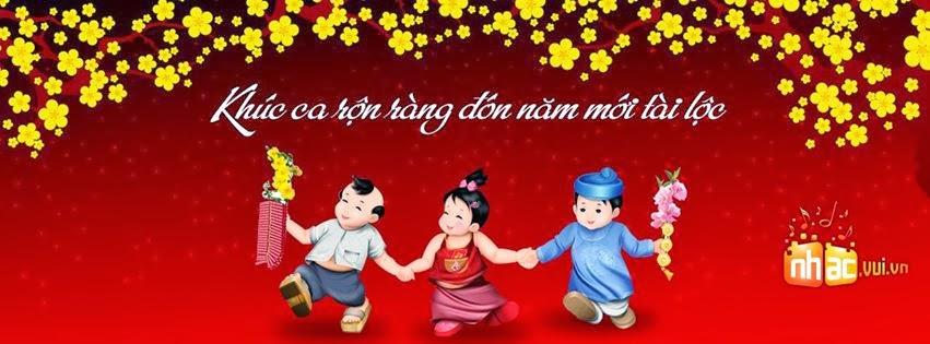 Ảnh bìa Facebook chúc mừng năm mới xuân Giáp Ngọ 2014