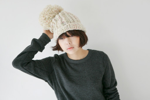 smoky alica korean fashion wool hat