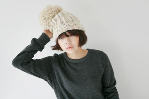 smoky alica korean fashion wool hat