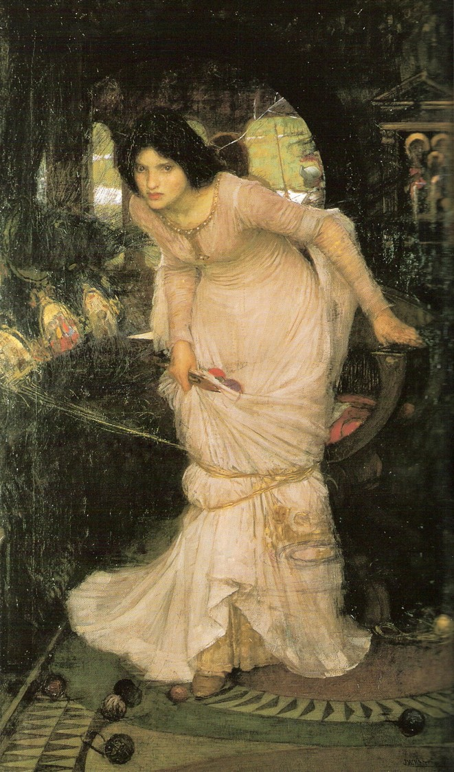 waterhouse lady shalott