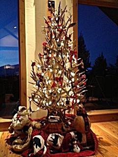 The Peak Antler Company: Christmas In July - Antler Christmas Tree