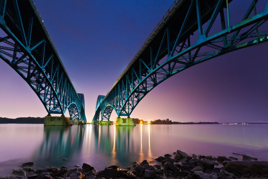 34. South Grand Island Bridge by Mihai Andritoiu