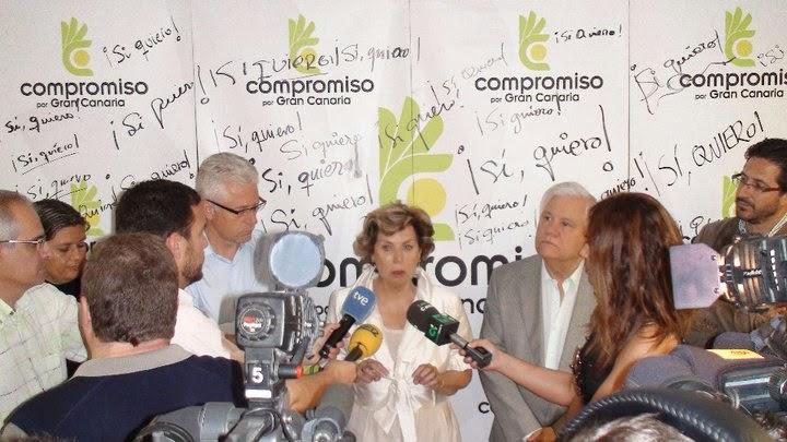 Nardy Barrios, compromiso Gran Canaria, se retira de la política