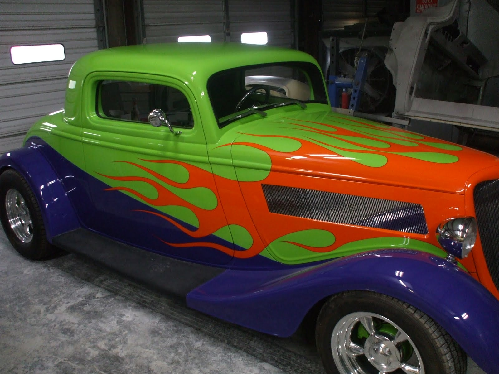 Color Me Crazy Hot Rods Building Custom Hot Rods And