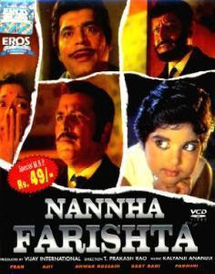 Nannha Farishta (1969 - movie_langauge) - Pran, Ajit, Anwar Hussain, Baby Rani, Padmini, Balraj Sahni, Johnny Walker, Suresh, Mukri, Raj Mehra, Sunder, Maruti Rao