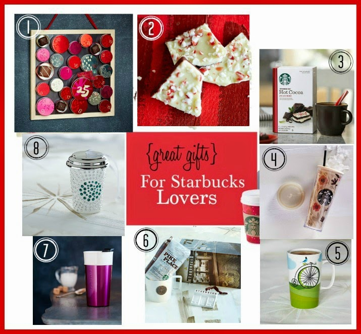 great gifts for starbucks lovers