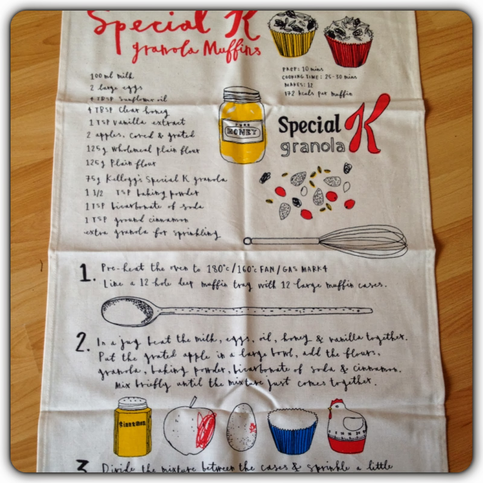 special k tea towel