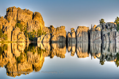 Sunrise at Sylvan Lake - HDR by Dakota Visions Photography LLC www.dakotavisions.com