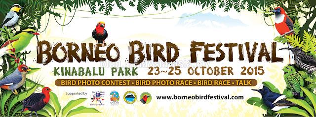 Borneo Bird Festival 2015 Sabah