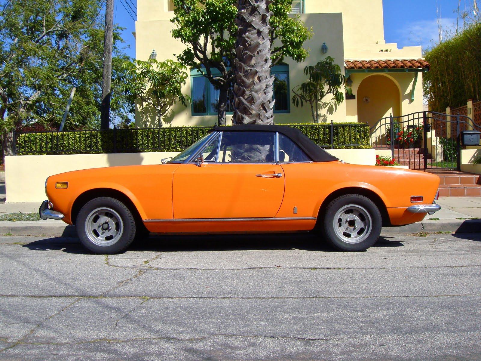 The Street Peep 1971 Fiat 124 Sport Spider 1970