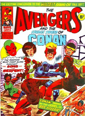 Marvel UK, Avengers #110, Sons of the Serpent