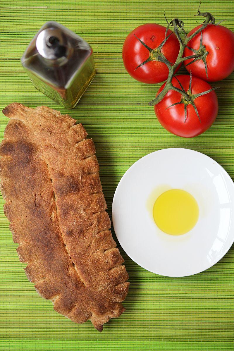 Pane Ibleo, włoski chleb z semoliny