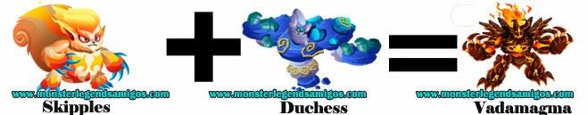 como obtener el monster vadamagma en monster legends formula 1