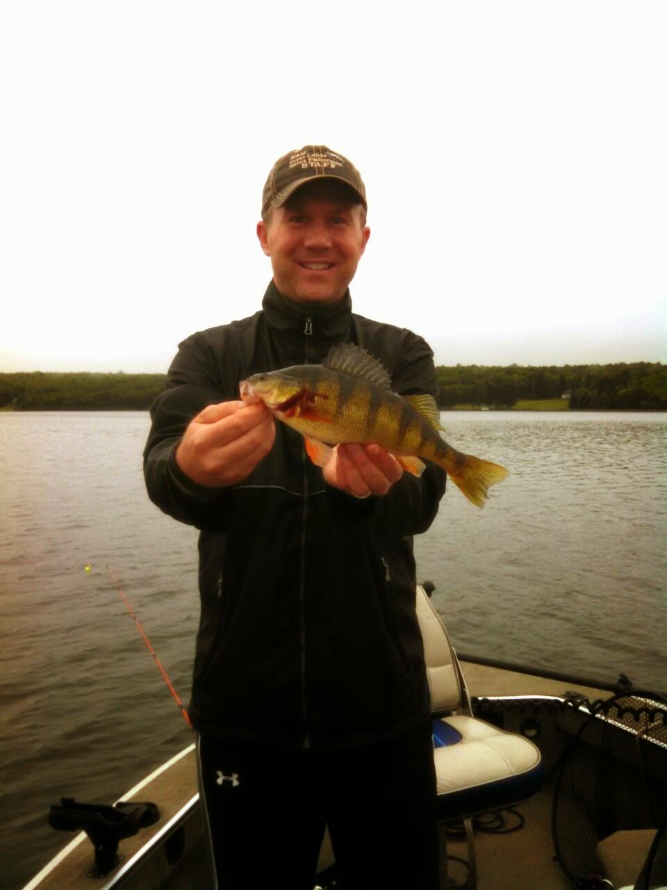 Wisconsin fishing reports lake gogebic perch fishing for Lake gogebic fishing report