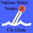 YAKIMA WATER TEMPS