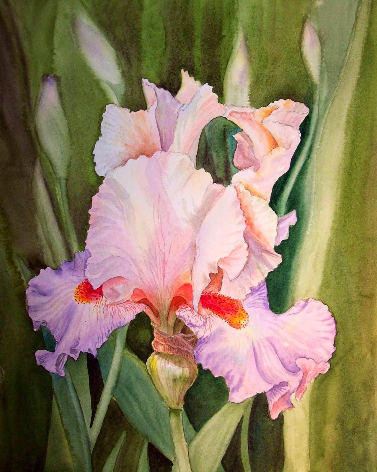 realism in watercolor