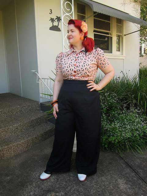 evadress 3322 simplicity 3322 wide leg trousers swing pants 1940s plus size large