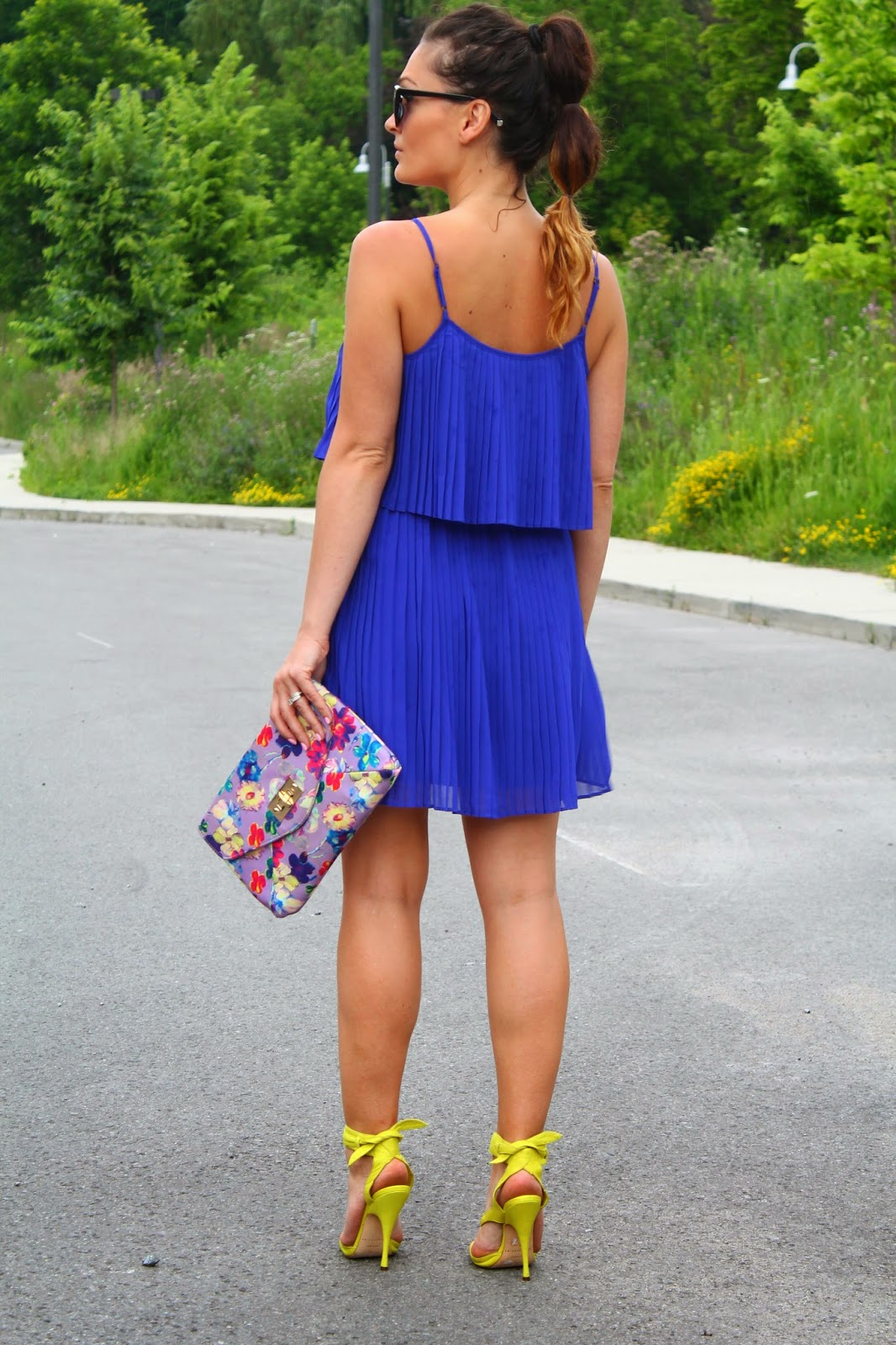 All About Royal Blue Summer Dress