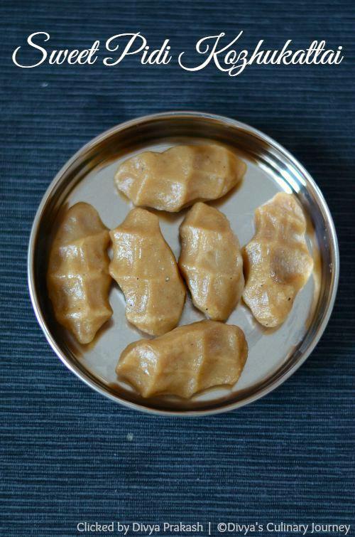 Sweet Pidi kolukattai recipe