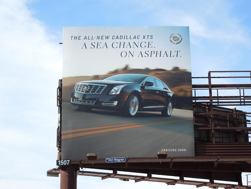 Cadillac sea change asphalt billboard