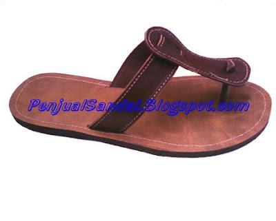 Sandal kulit pria harga murah