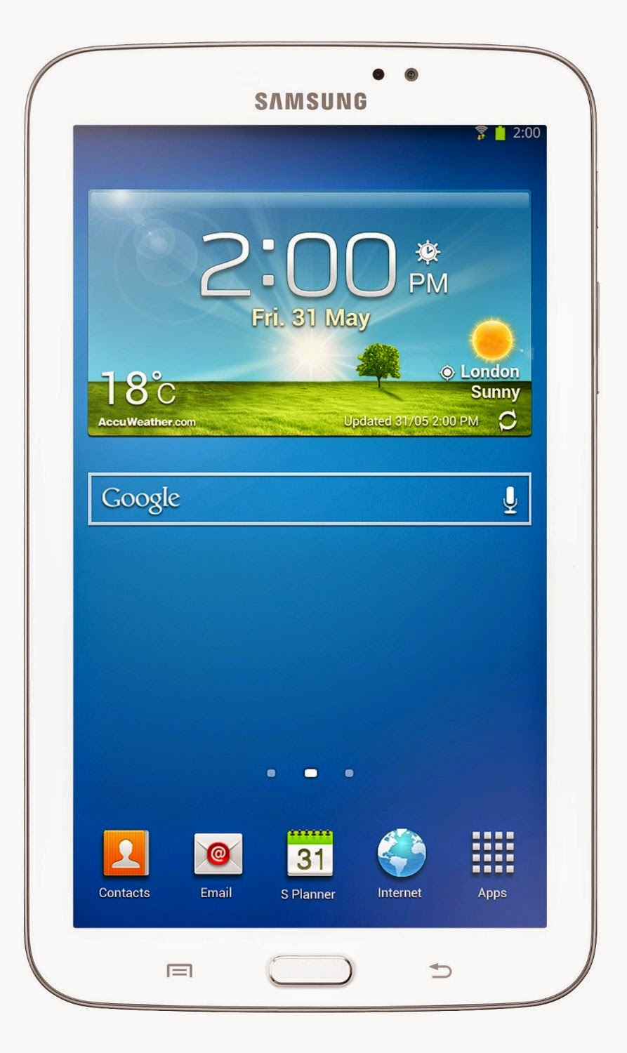 Samsung Galaxy Tab 3 with Bluetooth Headset at Rs.13999 (7-inch, WiFi, 3G, Voice Calling)