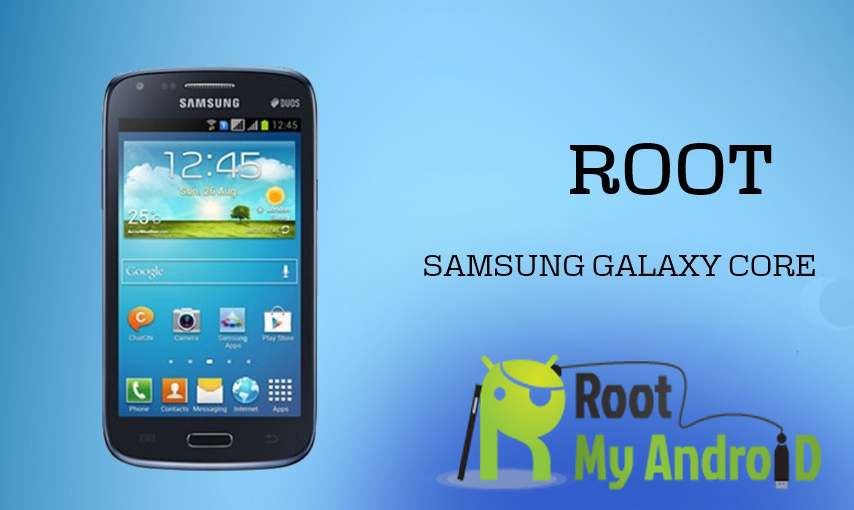 Root dan Install CWM Recovery Galaxy Core