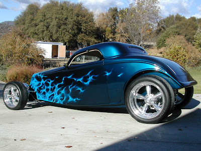 Blue Hot Roadster