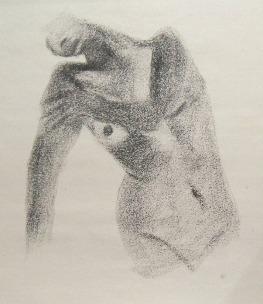 140922 - Day 22a - 30 in 30 Challenge - Charcoal on newsprint -  Dave Casey - TheDailyPainter.jpg