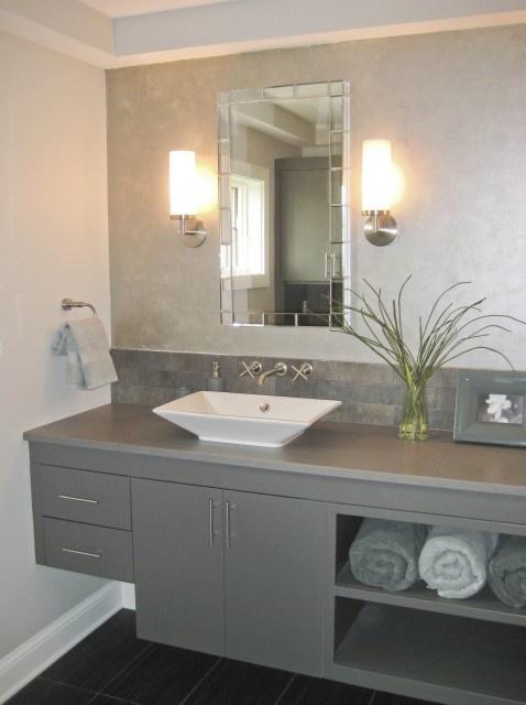decoracao banheiro velho : decoracao banheiro velho:Mundo de Cissa: Vários tons de cinza