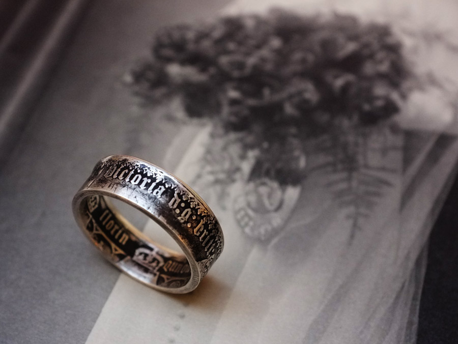 victoria florin ring - Photograph by Tim Irving