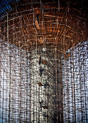 Crazy Scaffolding Seen On www.coolpicturegallery.us