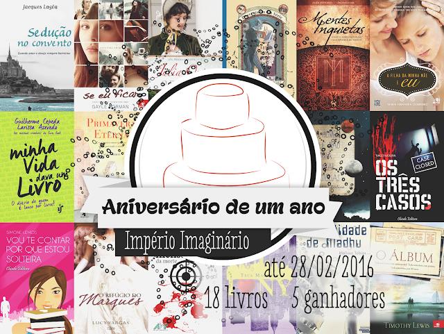 [Promoção] Um ano do blog Império Imaginário