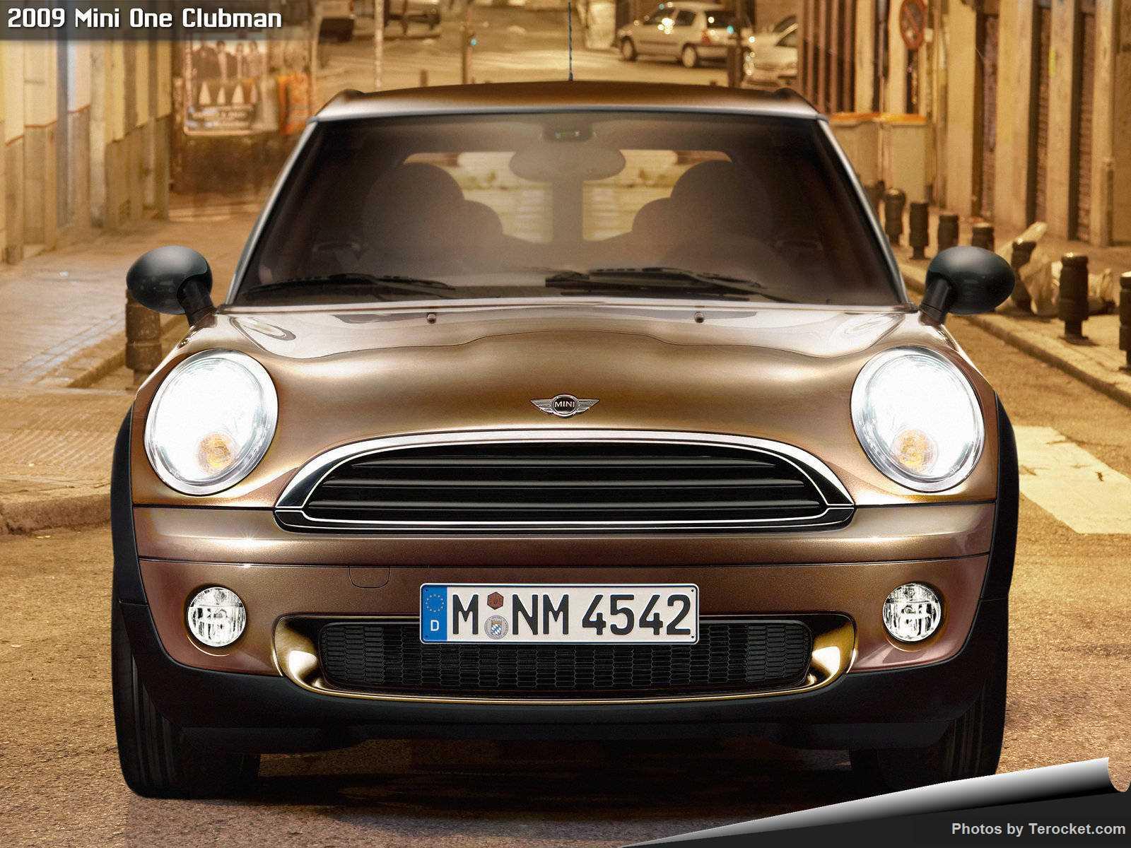 Hình ảnh xe ô tô Mini One Clubman 2009 & nội ngoại thất