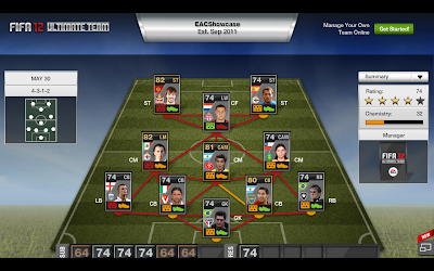 TOTW 38 Players - FIFA 12 Ultimate Team - Team of the Week