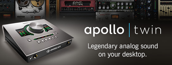 Universal Audio Announces Apollo Twin