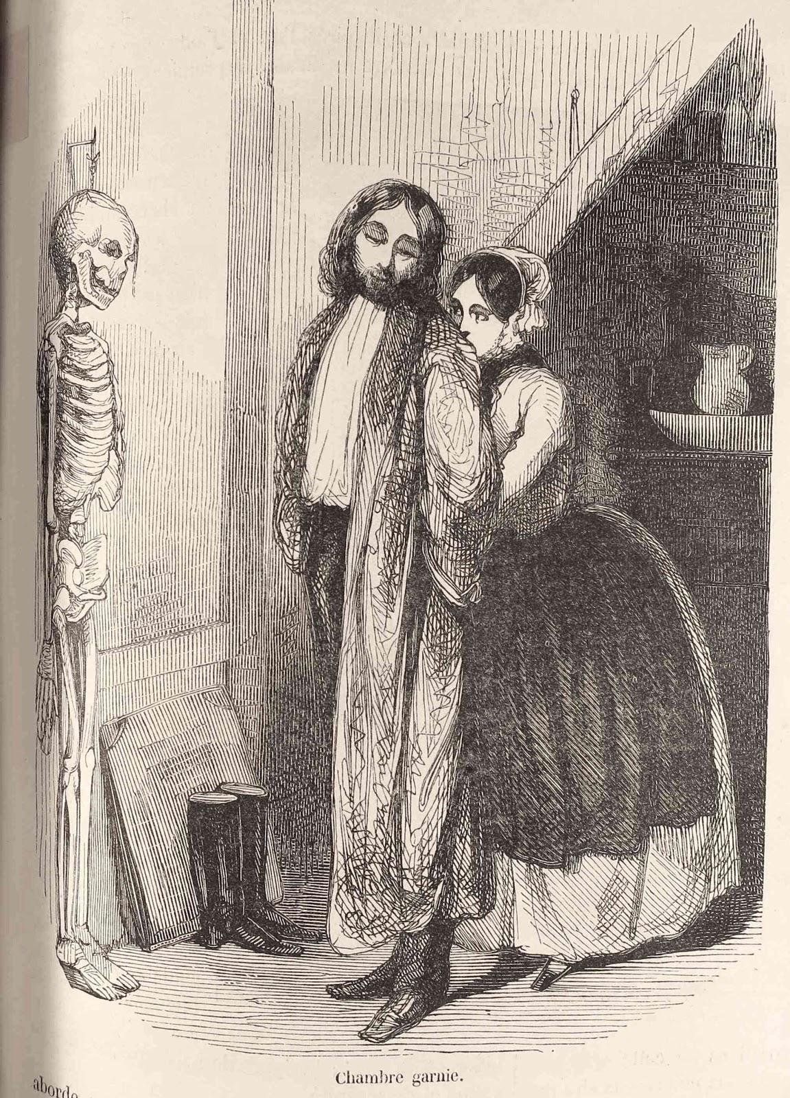 Dittrick museum medical paris 1852 for Chambre garnie
