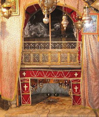 Igreja da Natividade, local da Gruta de Belém