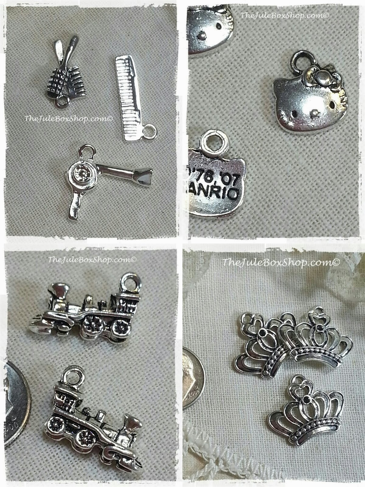 Charms and Buttons!