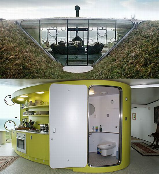 Blog fuad informasi dikongsi bersama 10 coolest for Modern underground home designs