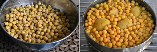 Chana Aloo Masala Chole Chawal Recipe