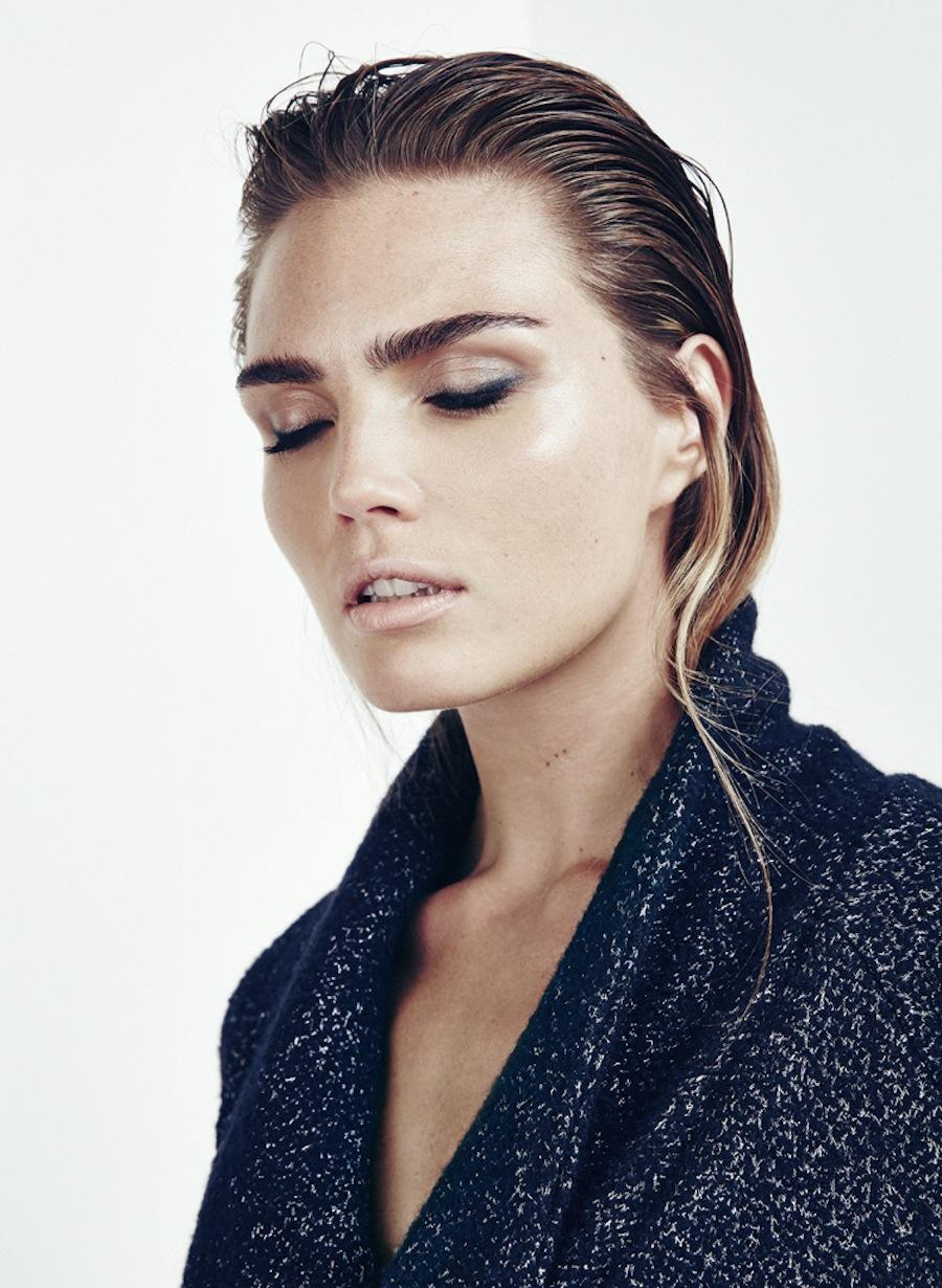 Kim feenstra by martijn senders for jackie 58 visual optimism fashion editorials shows - Slick back hair ...
