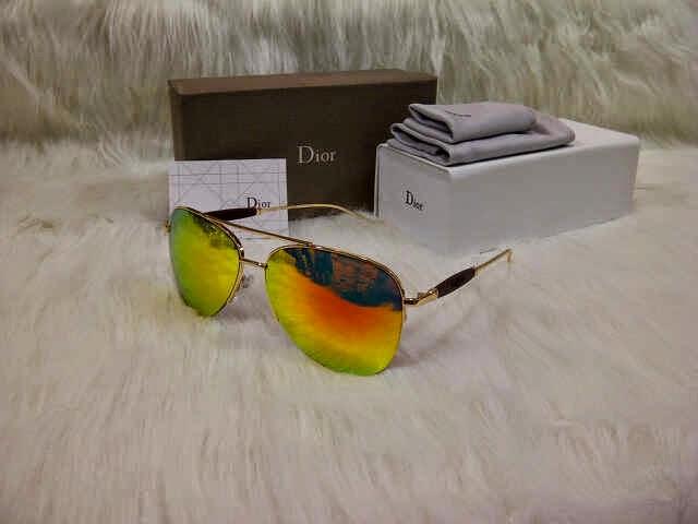 Kacamata Dior 1121 Gold Fire